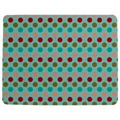 Large Colored Polka Dots Line Circle Jigsaw Puzzle Photo Stand (rectangular) by Mariart