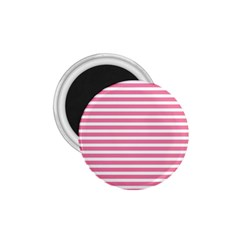 Horizontal Stripes Light Pink 1 75  Magnets by Mariart