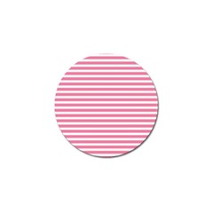 Horizontal Stripes Light Pink Golf Ball Marker (4 Pack) by Mariart