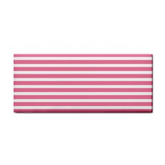 Horizontal Stripes Light Pink Cosmetic Storage Cases by Mariart