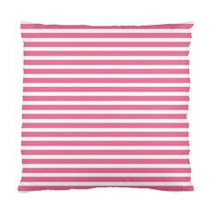 Horizontal Stripes Light Pink Standard Cushion Case (two Sides) by Mariart