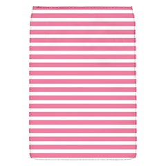 Horizontal Stripes Light Pink Flap Covers (s)  by Mariart