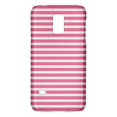 Horizontal Stripes Light Pink Galaxy S5 Mini by Mariart