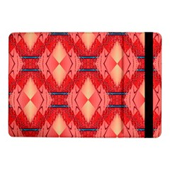 Orange Fractal Background Samsung Galaxy Tab Pro 10 1  Flip Case by Simbadda