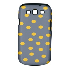 Limpet Polka Dot Yellow Grey Samsung Galaxy S Iii Classic Hardshell Case (pc+silicone) by Mariart