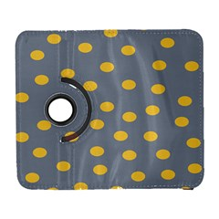 Limpet Polka Dot Yellow Grey Galaxy S3 (flip/folio) by Mariart