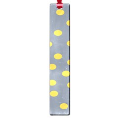 Limpet Polka Dot Yellow Grey Large Book Marks by Mariart