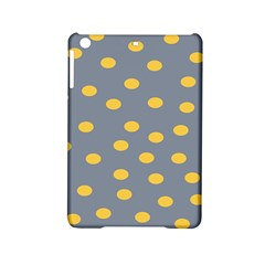 Limpet Polka Dot Yellow Grey Ipad Mini 2 Hardshell Cases by Mariart