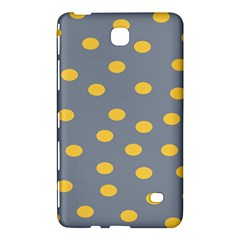 Limpet Polka Dot Yellow Grey Samsung Galaxy Tab 4 (7 ) Hardshell Case  by Mariart