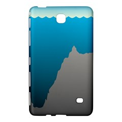 Mariana Trench Sea Beach Water Blue Samsung Galaxy Tab 4 (8 ) Hardshell Case  by Mariart