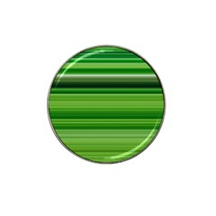 Horizontal Stripes Line Green Hat Clip Ball Marker (4 Pack) by Mariart