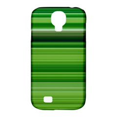 Horizontal Stripes Line Green Samsung Galaxy S4 Classic Hardshell Case (pc+silicone) by Mariart