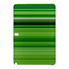 Horizontal Stripes Line Green Samsung Galaxy Tab Pro 12 2 Hardshell Case by Mariart