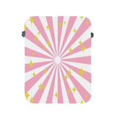 Hurak Pink Star Yellow Hole Sunlight Light Apple Ipad 2/3/4 Protective Soft Cases by Mariart