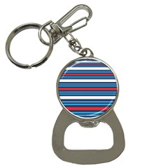 Martini Style Racing Tape Blue Red White Button Necklaces by Mariart
