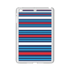Martini Style Racing Tape Blue Red White Ipad Mini 2 Enamel Coated Cases by Mariart