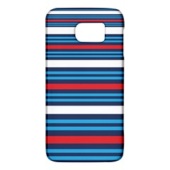 Martini Style Racing Tape Blue Red White Galaxy S6 by Mariart