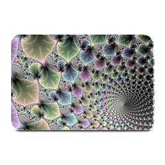 Beautiful Image Fractal Vortex Plate Mats by Simbadda
