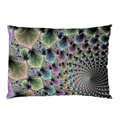 Beautiful Image Fractal Vortex Pillow Case by Simbadda