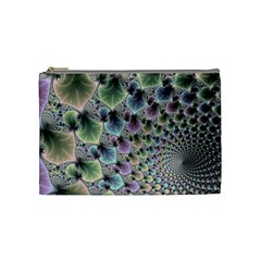 Beautiful Image Fractal Vortex Cosmetic Bag (medium)  by Simbadda
