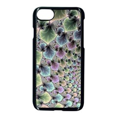 Beautiful Image Fractal Vortex Apple Iphone 7 Seamless Case (black) by Simbadda