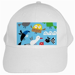 New Zealand Birds Close Fly Animals White Cap by Mariart