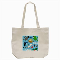 New Zealand Birds Close Fly Animals Tote Bag (cream) by Mariart