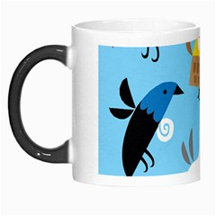 New Zealand Birds Close Fly Animals Morph Mugs by Mariart