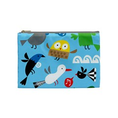 New Zealand Birds Close Fly Animals Cosmetic Bag (medium)
