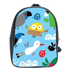 New Zealand Birds Close Fly Animals School Bags(large)
