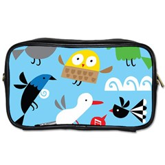 New Zealand Birds Close Fly Animals Toiletries Bags 2 Side by Mariart