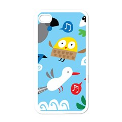 New Zealand Birds Close Fly Animals Apple Iphone 4 Case (white) by Mariart