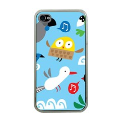 New Zealand Birds Close Fly Animals Apple Iphone 4 Case (clear) by Mariart