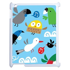 New Zealand Birds Close Fly Animals Apple Ipad 2 Case (white) by Mariart
