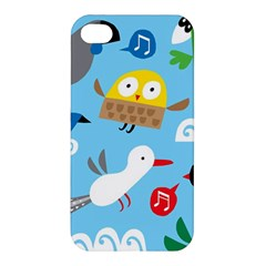 New Zealand Birds Close Fly Animals Apple Iphone 4/4s Premium Hardshell Case by Mariart