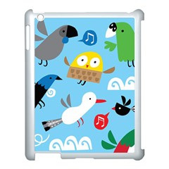 New Zealand Birds Close Fly Animals Apple Ipad 3/4 Case (white) by Mariart