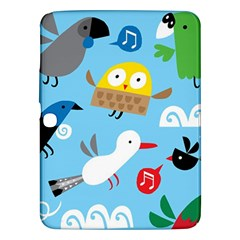 New Zealand Birds Close Fly Animals Samsung Galaxy Tab 3 (10 1 ) P5200 Hardshell Case  by Mariart