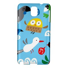 New Zealand Birds Close Fly Animals Samsung Galaxy Note 3 N9005 Hardshell Case by Mariart