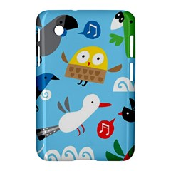 New Zealand Birds Close Fly Animals Samsung Galaxy Tab 2 (7 ) P3100 Hardshell Case  by Mariart