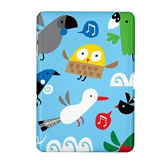 New Zealand Birds Close Fly Animals Samsung Galaxy Tab 2 (10 1 ) P5100 Hardshell Case  by Mariart