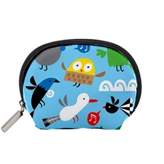 New Zealand Birds Close Fly Animals Accessory Pouches (small)  by Mariart