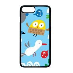 New Zealand Birds Close Fly Animals Apple Iphone 7 Plus Seamless Case (black) by Mariart