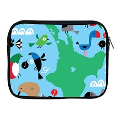 New Zealand Birds Detail Animals Fly Apple Ipad 2/3/4 Zipper Cases by Mariart