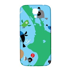 New Zealand Birds Detail Animals Fly Samsung Galaxy S4 I9500/i9505  Hardshell Back Case by Mariart
