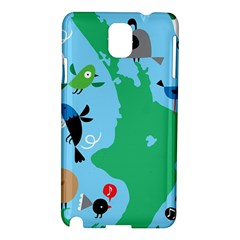 New Zealand Birds Detail Animals Fly Samsung Galaxy Note 3 N9005 Hardshell Case by Mariart