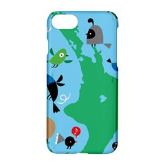 New Zealand Birds Detail Animals Fly Apple Iphone 7 Hardshell Case by Mariart