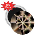 Background With Fractal Crazy Wheel 2.25  Magnets (100 pack)  Front