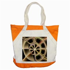 Background With Fractal Crazy Wheel Accent Tote Bag by Simbadda