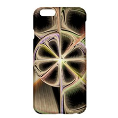 Background With Fractal Crazy Wheel Apple Iphone 6 Plus/6s Plus Hardshell Case by Simbadda