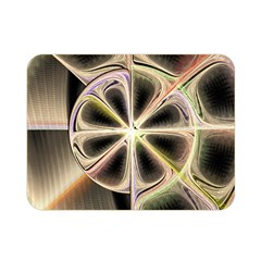 Background With Fractal Crazy Wheel Double Sided Flano Blanket (mini)  by Simbadda